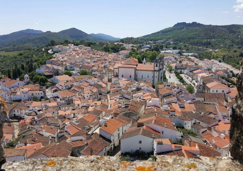 Blz5 – Castelo de Vide – Stadszicht vanuit burchttoren